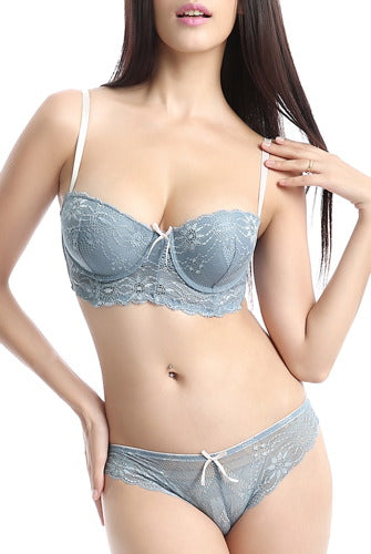 phistic Women's Bra & Hipster 2-Piece Set