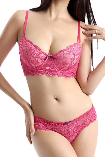 phistic Women's Bra & Thong 2-Piece Set