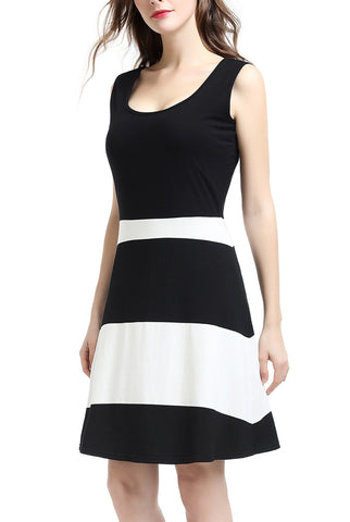 PHISTIC Women's Colorblock Shift Dress