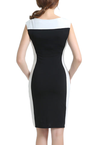 "PHISTIC Women's ""Susan"" Colorblock Sheath Dress"