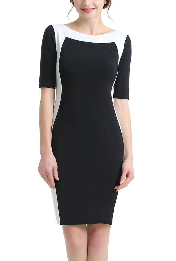 PHISTIC Women's Colorblock Sheath Dress