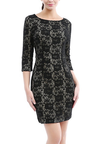 PHISTIC Women's Lace Sheath Dress (Regular & Plus Size)
