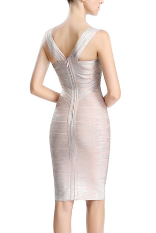 PHISTIC Women's Crisscross Front Bandage Dress