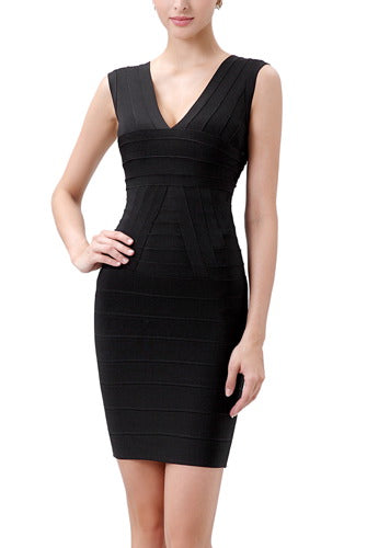 PHISTIC Women's Bodycon Bandage Dress