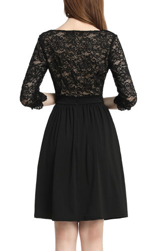 PHISTIC Women's Lace Fit & Flare Dress (Regular & Plus Size)