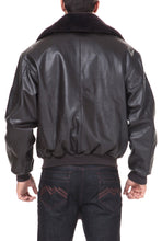 Load image into Gallery viewer, Landing Leathers Men's Air Force B-15 Cowhide Leather Flight Bomber Jacket - Tall