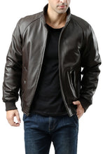 Load image into Gallery viewer, Landing Leathers Men's WWII New Zealand Lambskin Leather Bomber Jacket - Big & Tall