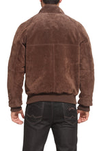 Load image into Gallery viewer, Landing Leathers Men's WWII Suede Leather Bomber Jacket