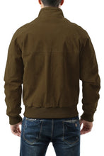 Load image into Gallery viewer, Landing Leathers Men's WWII Suede Leather Bomber Jacket - Big