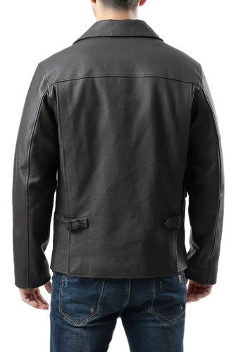Landing Leathers Men's Hero Indy-Style Leather Jacket - Tall