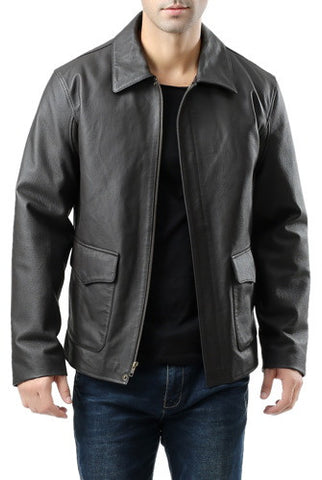 Landing Cowhide Leathers Men's Hero Indy-Style Cowhide Leather Adventurer Jacket