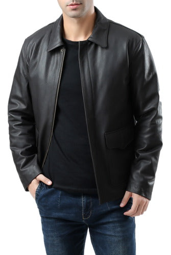 Landing Leathers Men's Raider Indy-Style Leather Legend Jacket