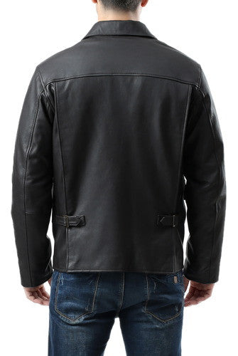 Landing Leathers Men's Raider Indy-Style Leather Legend Jacket - Tall
