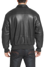Load image into Gallery viewer, Landing Leathers Air Force Men's A2 Goatskin Leather Flight Bomber Jacket (A-2) - Big & Tall