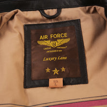 Load image into Gallery viewer, Landing Leathers Men's Monogram Collection Air Force A2 Leather Flight Bomber Jacket