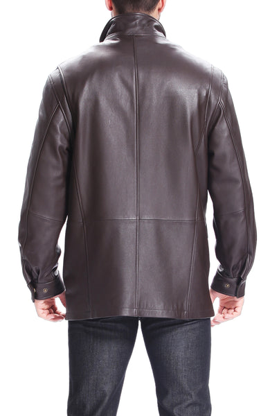 bgsd mens bryson zealand lambskin leather coat 2
