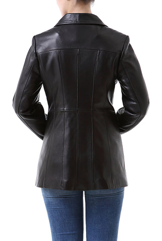 "BGSD Women's ""Becca"" New Zealand Lambskin Leather Jacket - Short"