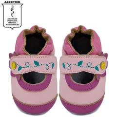 Kimi + Kai Girls Soft Sole Leather Baby Shoes - Mary Jane