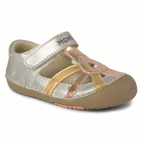 Momo Baby Girls First Walker Toddler Leather Sandals Shoes