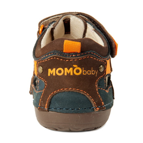 Momo Baby Boys Leather Sandals - Thomas (First Walker & Toddler)