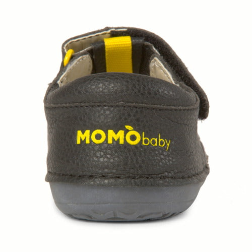 Momo Baby Boys First Walker Toddler Mason Leather Sandals Shoes