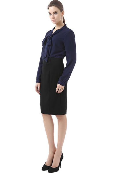 "Phistic Women's ""Tobi"" Zipper Pencil Skirt"