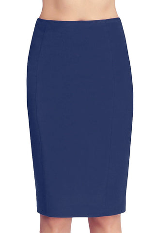 phistic womens tobi zipper pencil skirt