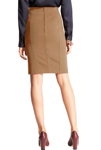 "Phistic Women's ""Harley"" Classic Ponte Pencil Skirt"