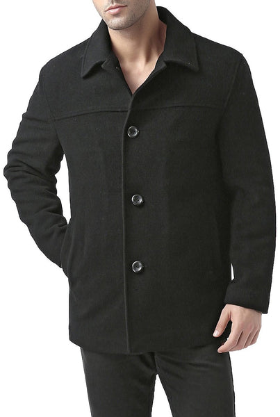BGSD Men's 'Matthew' Wool Blend Car Coat