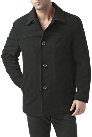 "BGSD Men's ""Matthew"" Wool Blend Car Coat"