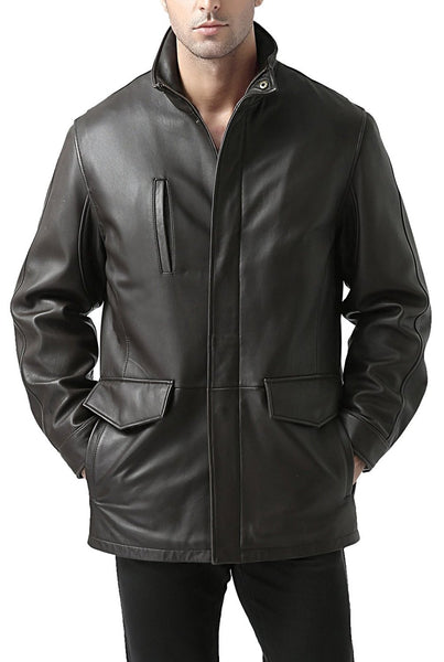 "BGSD Men's ""Bryson"" Zealand Lambskin Leather Coat"