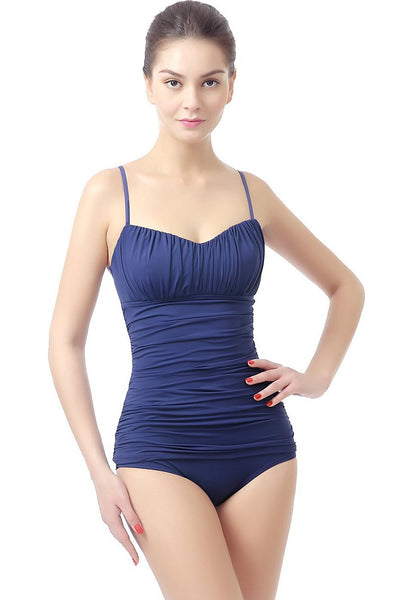 "Phistic ""Jessica"" Shirred Tankini Top (Regular & Plus)"