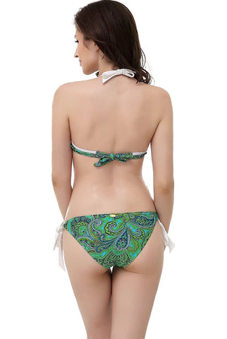"Women's Miss Adola ""Molly"" Bikini Top & Bottom 2-Piece Swim Bathing Suit Set"