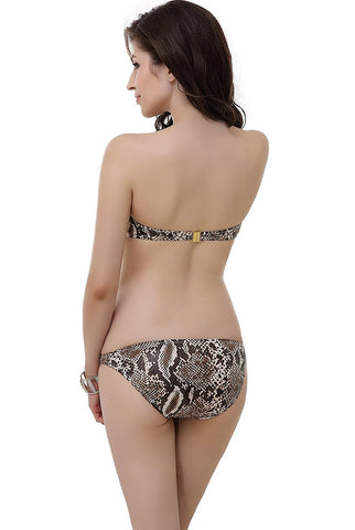 "Miss Adola Women's ""Tabby"" Bikini Top & Bottom 2-Piece Swimwear Set"