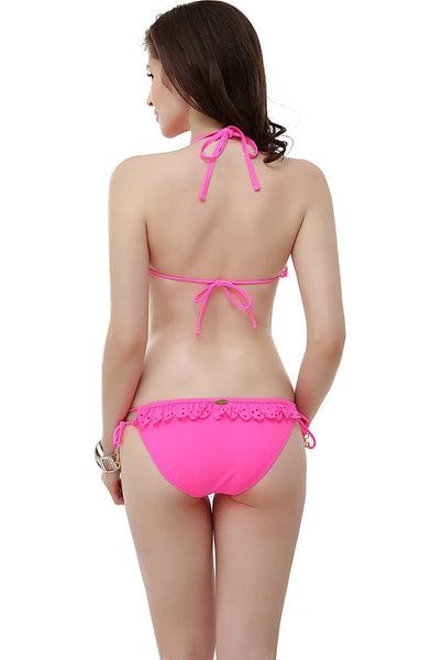 "Women's Miss Adola ""Jenn"" Bikini Top & Bottom 2-Piece Swim Bathing Suit Set"