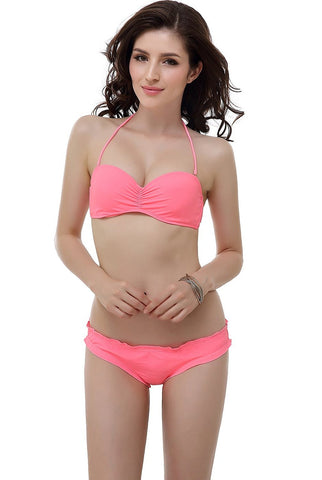 "Miss Adola Women's ""Britney"" Bikini Top & Bottom 2-Piece Swimwear Set"