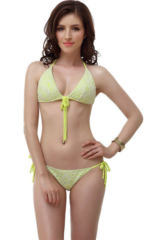 "Women's Miss Adola ""Julia"" Bikini Top & Bottom 2-Piece Swim Bathing Suit Set"