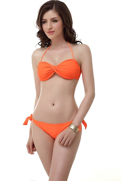 "Miss Adola Women's ""Tilly"" Bikini Top & Bottom 2-Piece Swimwear Set"