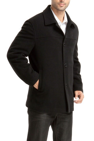 "BGSD Men's ""Matthew"" Wool Blend Car Coat - Big"
