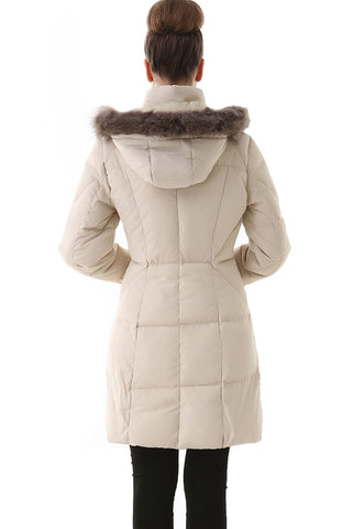 Jessie G. Women's Water Resistant Down Parka Coat