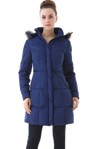 jessie g womens water resistant down parka coat 2