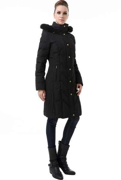 "BGSD Women's ""Addi"" Waterproof Down Parka Coat - Plus"