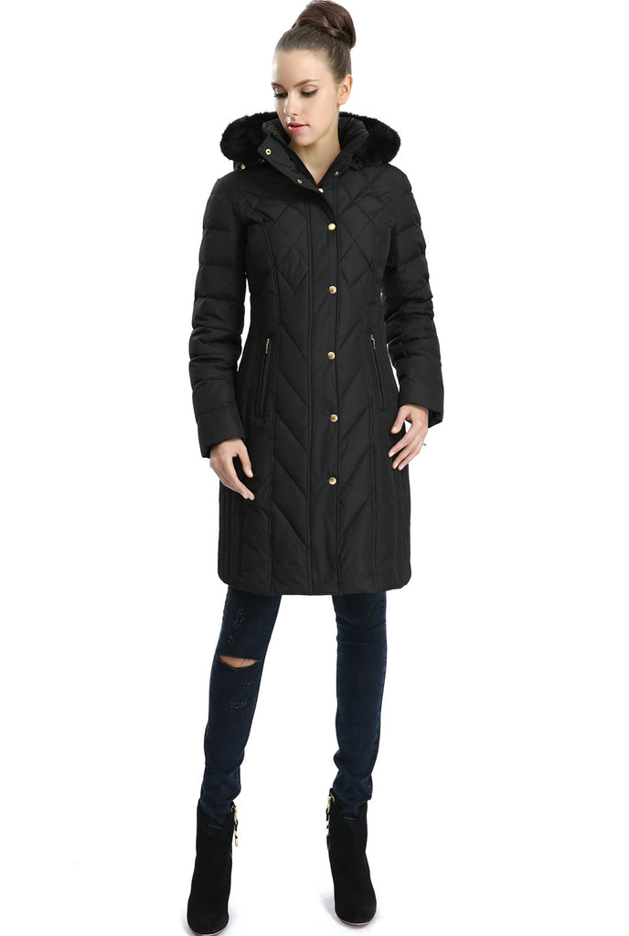 "BGSD Women's ""Addi"" Missy & Plus Size Waterproof Down Parka Coat"