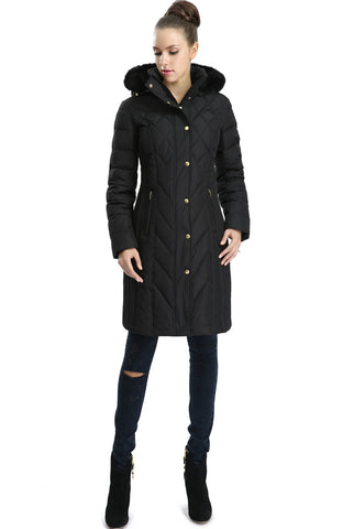 "BGSD Women's ""Addi"" Waterproof Down Parka Coat"