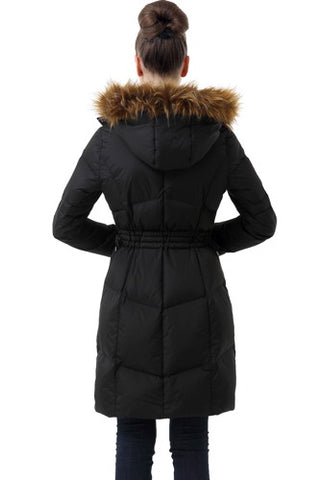 "BGSD Women's ""Jessa"" Waterproof Chevron Quilted Puffer Parka Coat - Plus"