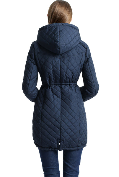 "BGSD Women's ""Angela"" Waterproof Quilted Parka Coat"