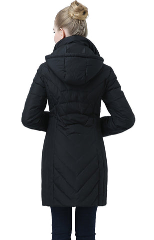 "BGSD Women's ""Avery"" Hooded Waterproof Down Coat"