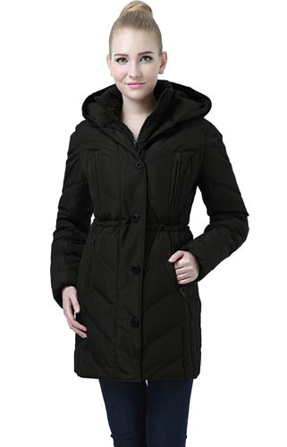 "BGSD Women's ""Vera"" Hooded Waterproof Puffer Parka Coat - Plus"
