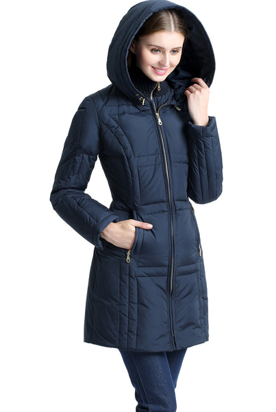 "BGSD Women's ""Whitney"" Waterproof Down Puffer Coat"