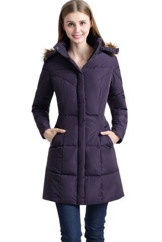 "BGSD Women's ""Elisa"" Water Resistant Down Parka Coat"